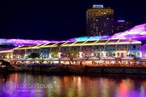Кларк Кей вечер, Сингапур