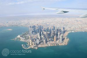 полет над Доха, Катар