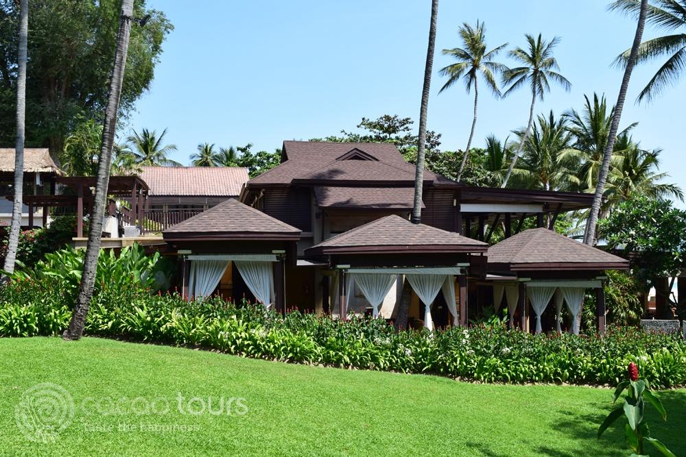 Спа центъра на хотелски комплекс Impiana Resort, Chaweng Noi, Ко Самуи, Тайланд