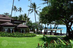 гледка към морето в Impiana Resort, Чауенг Ной, Ко Самуи, Тайланд