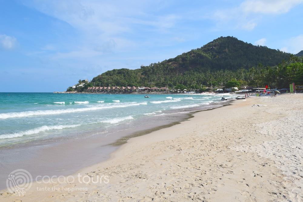 Плажът на Чавенг Нои, Ко Самуи, Тайланд