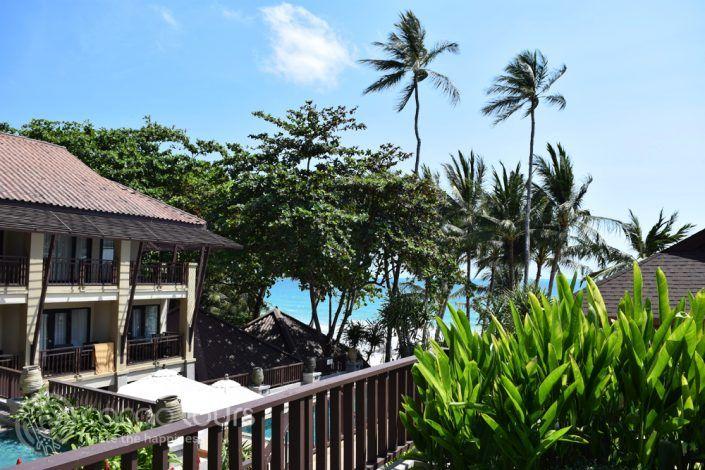 гледка към басейна на Impiana Resort, Чауенг Ной, Ко Самуи, Тайланд
