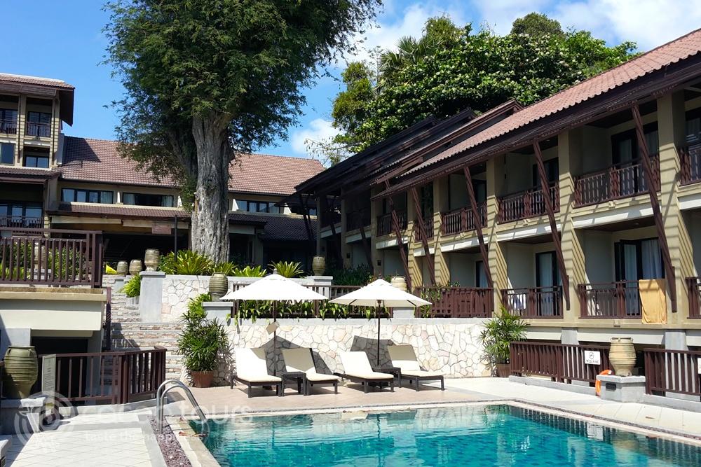 Басейн на хотел Impiana Resort, Chaweng Noi, Ко Самуи