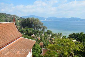 гледка към Патонг, Камала, Пукет, Тайланд
