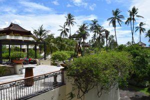 територията на Nusa Dua Beach Hotel, остров Бали, Индонезия