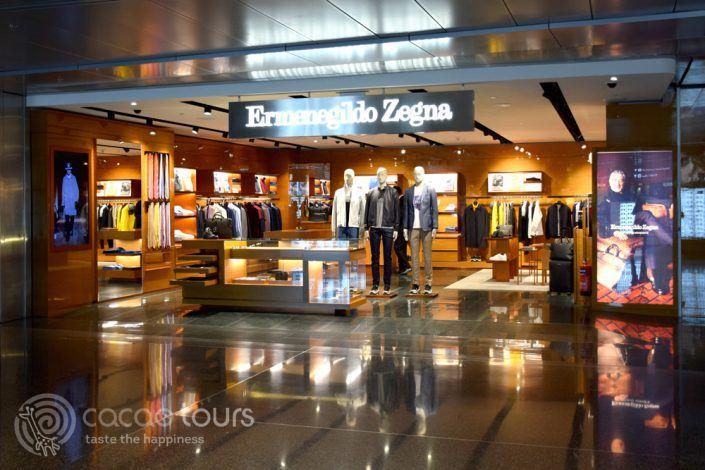 Ermenegildo Zegna, летище Hamad International Airport, Доха, Катар