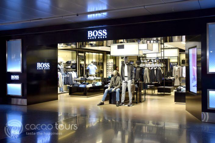 Hugo Boss, летище Hamad International Airport, Доха, Катар