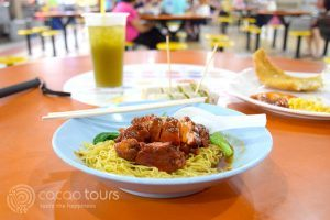 улична храна в китайския квартал, Сингапур