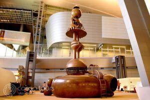 медни скулптури, летище Hamad International Airport, Доха, Катар