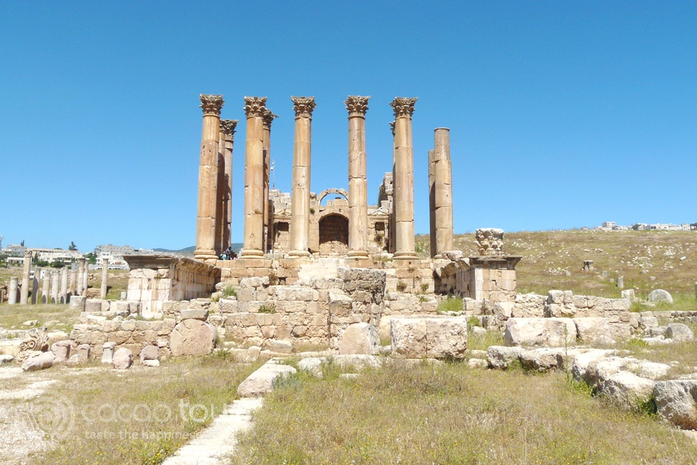 Римски останки в Джераш, Йордания (Jerash, Jordan)