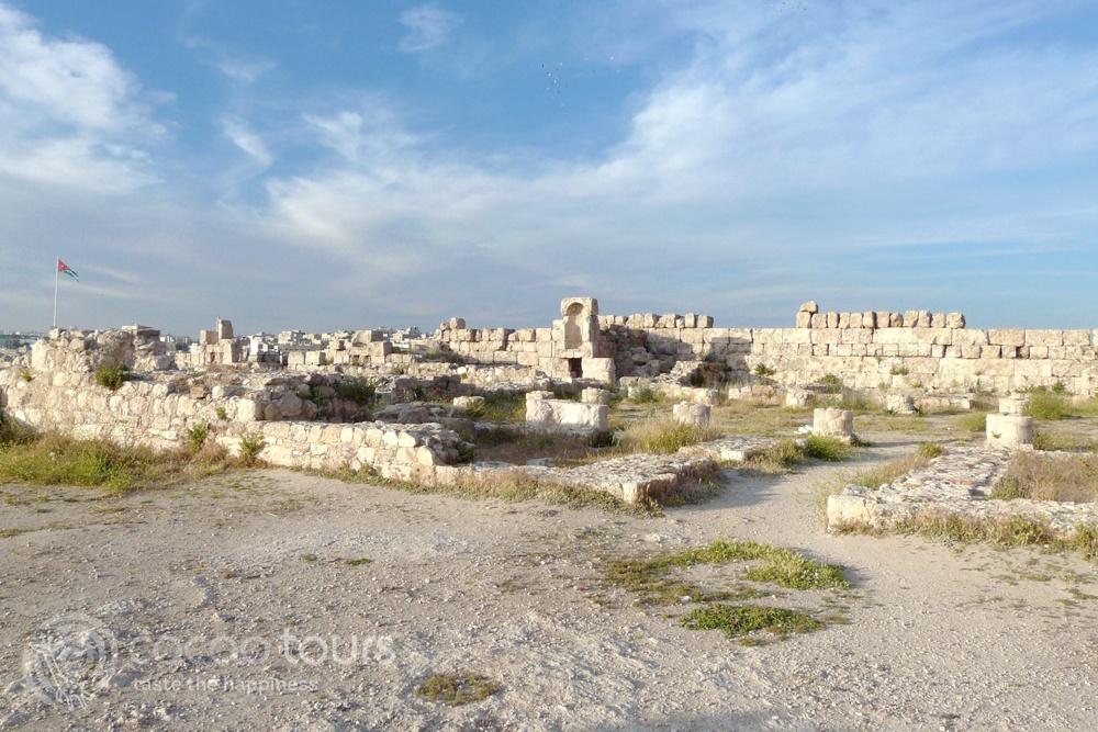 Цитаделата в град Аман, Йордания (The Citadel, Amman, Jordan)