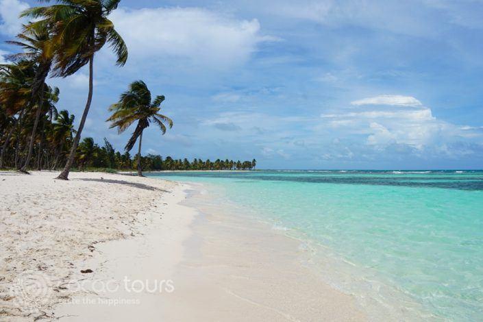 Плажът на остров Саона, Пунта Кана, Доминикана