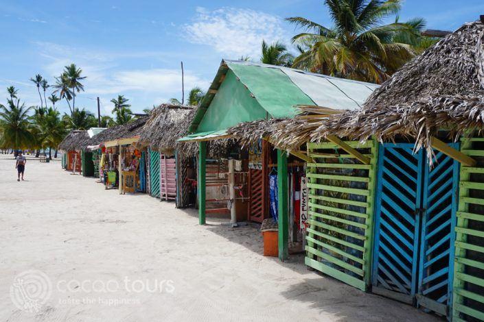 магазинчета на остров Саона, Пунта Кана, Доминикана