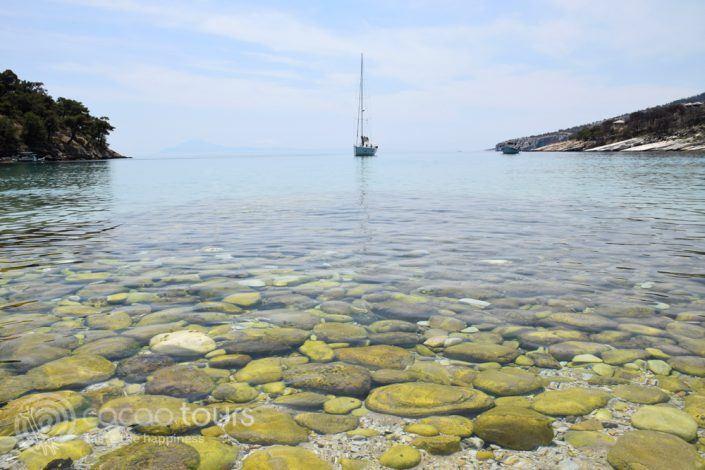 Aliki Beach, Thassos, Greece