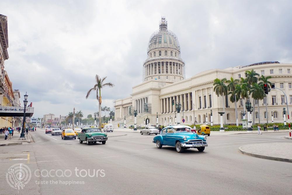 Капитолия в столицата на Куба - Хавана (El Capitolio, Havana, Cuba)