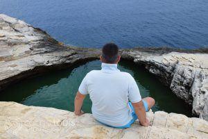 Giola, Thassos island, Greece