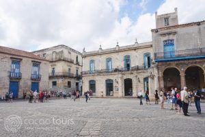 Катедралният площад в Хавана, Куба