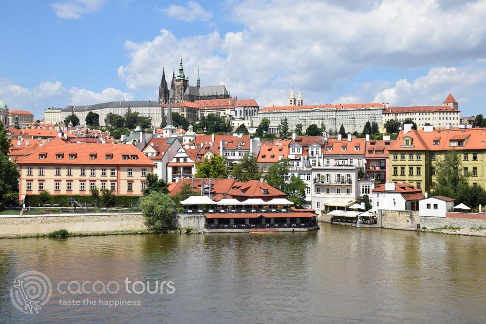 Поглед към Храдчани, Прага, Чехия (Hradcany, Prague, Czech Republic)