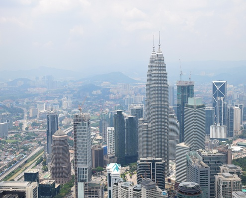 Куала Лумпур, Малайзия, Menara Tower, Kuala Lumpur, Malaysia