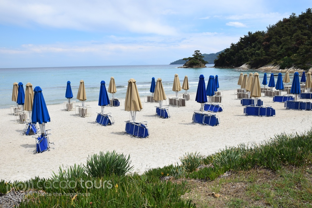 Makryammos Beach, Thassos, Greece