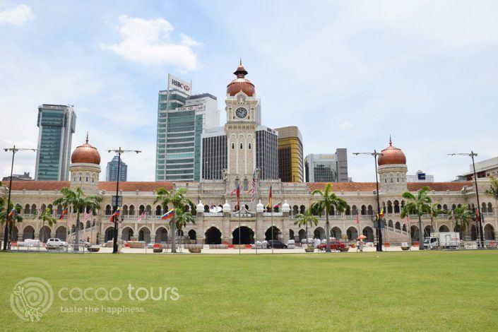 сграда на султан Абдул Самад, Датаран Мердека, Куала Лумпур, Малайзия