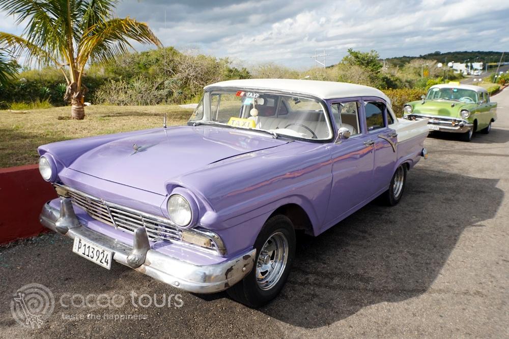 Retro cars, Varadero, Cuba