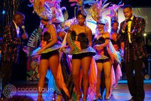 танцьорки от Тропикана шоу, Варадеро, Куба