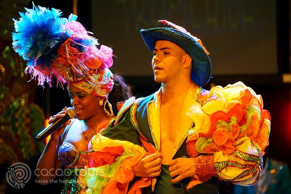 Магията на Тропикана шоу, Куба (Tropicana Show, Varadero, Cuba)