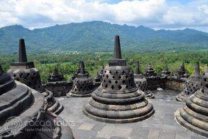 Храмът Боробудур, Джокякарта, Ява, Индонезия