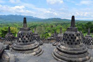 Храмът Боробудур, Джокякарта, Индонезия