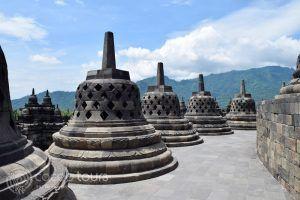 Храмът Боробудур, остров Ява, Индонезия