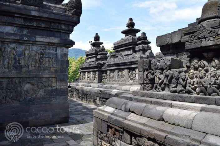 Храмът Боробудур, град Джокякарта, Ява, Индонезия