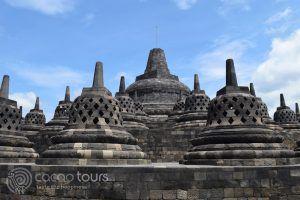 Храмът Боробудур, Джокякарта, остров Ява, Индонезия