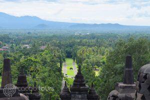 Храмът Боробудур, гр. Джокякарта, остров Ява, Индонезия