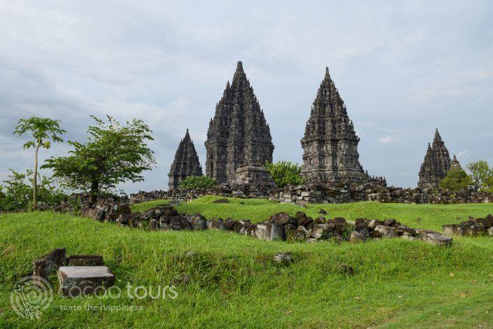 Храмът Прамбанан, град Джокякарта, остров Ява, Индонезия