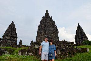 Храмът Прамбанан, гр. Джокякарта, о-в Ява, Индонезия
