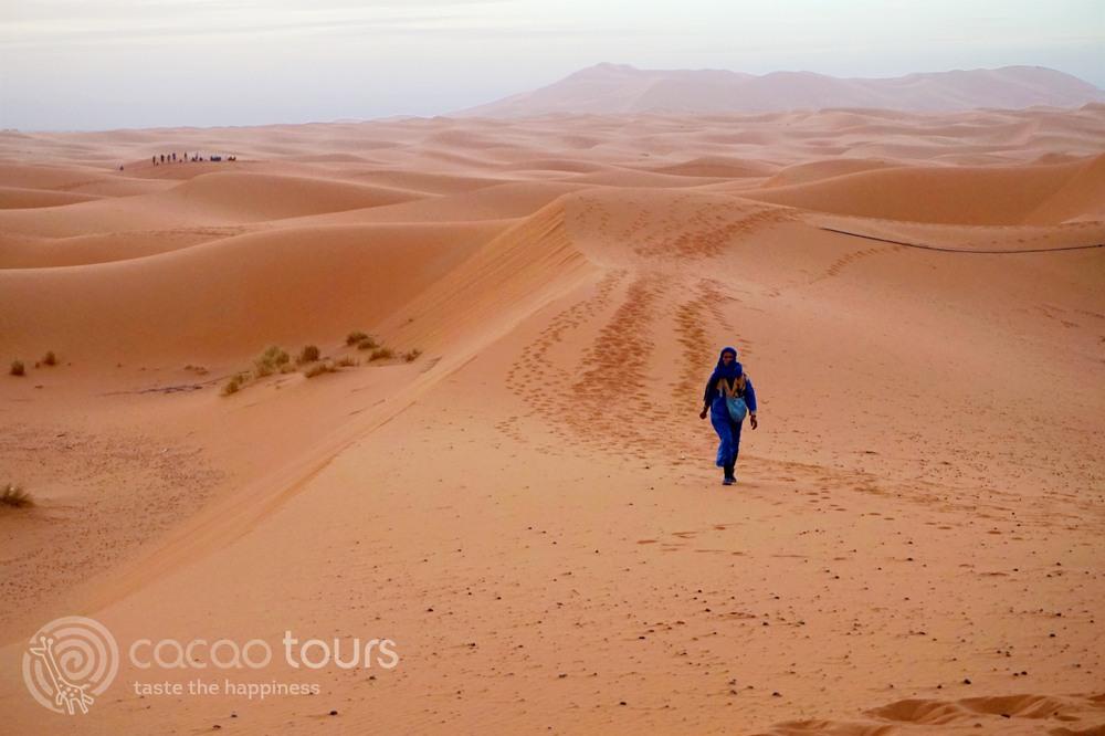 пустинята Сахара (Sahara), Мароко (Morocco)