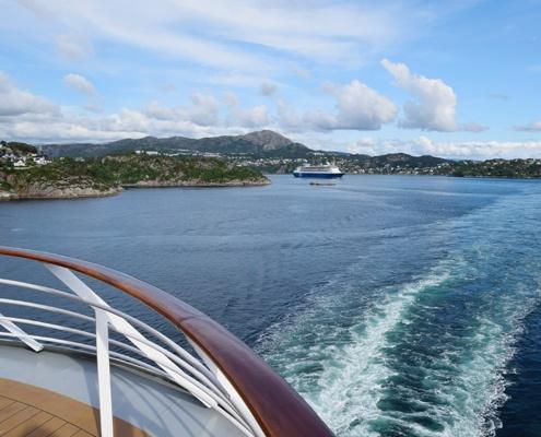 круизни кораби с европейски маршрути