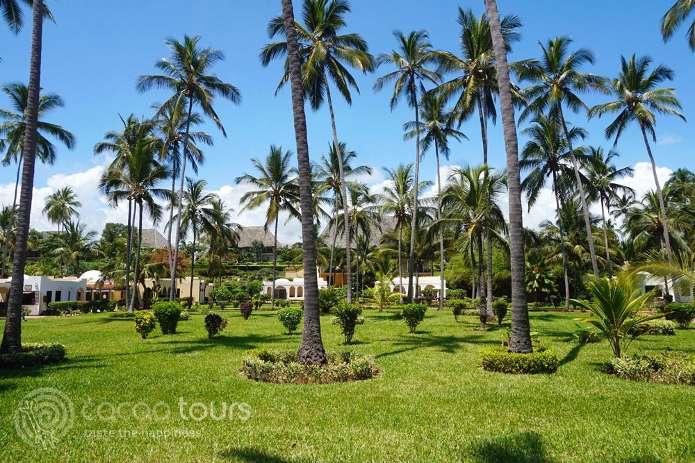 Територията на хотелски комплекс на остров Занзибар, Танзания (Zanzibar, Tanzania)
