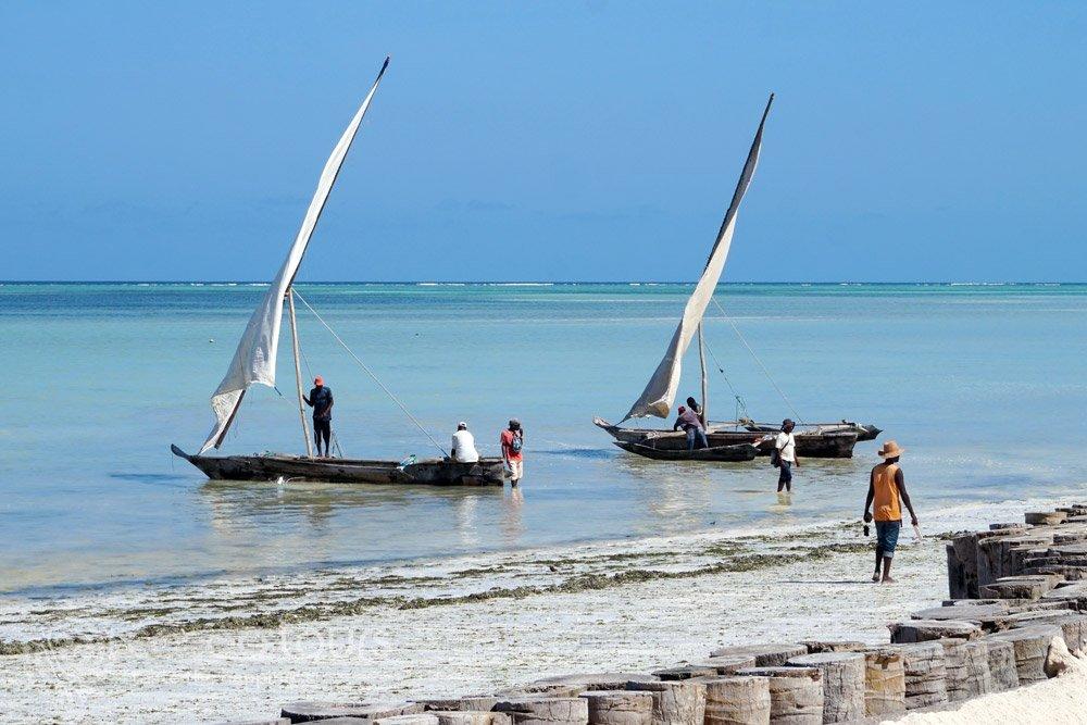 лодки на остров Занзибар, Танзания (Zanzibar, Tanzania)