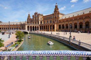 Alcazar, Seville, Andalusia, Spain