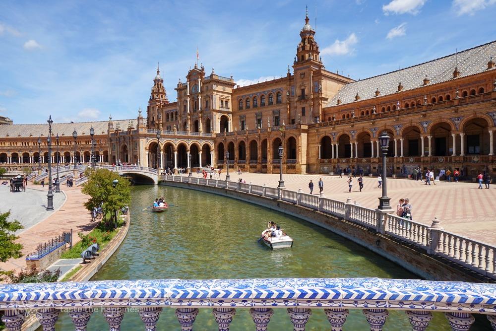 Площад Испания, Севилия - столицата на Андалусия (Seville, Andalusia, Spain)