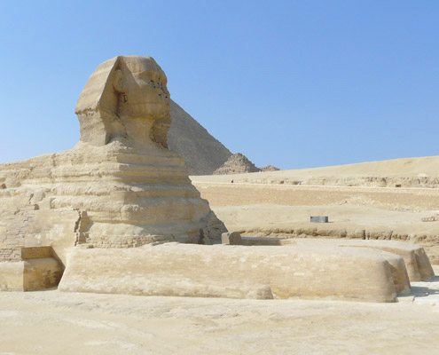 Египет - The Great Sphinx, Giza, Cairo, Egypt