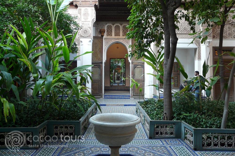 Дворецът Бахия (Bahia, Palace), Маракеш, Мароко (Marrakech, Morocco)