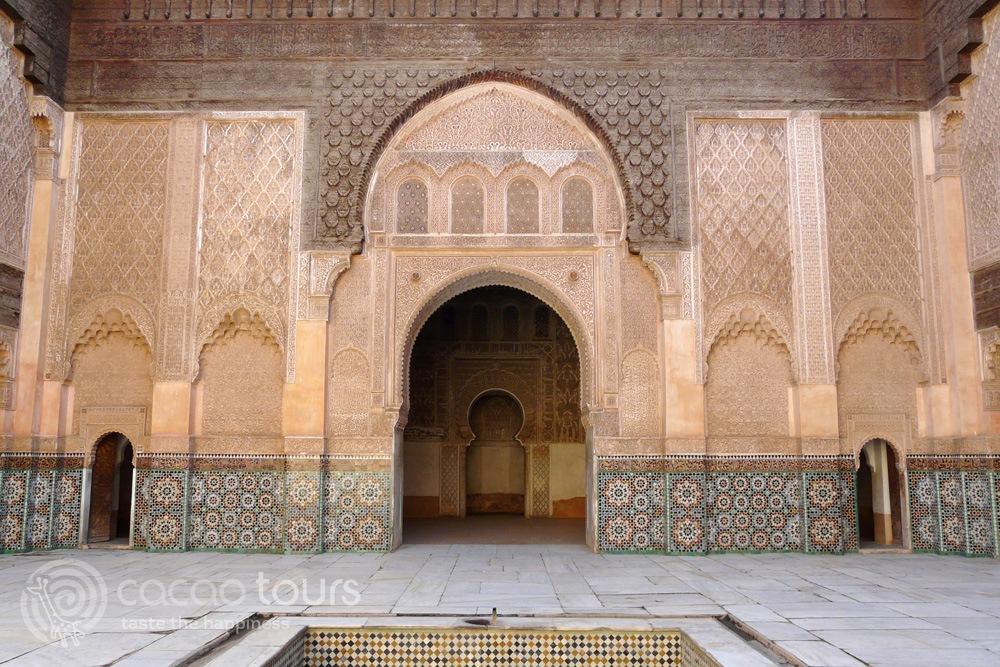 "медресе ""Бен Юсеф"" (Ben Youssef Madrasa), Маракеш, Мароко (Marrakech, Morocco)"