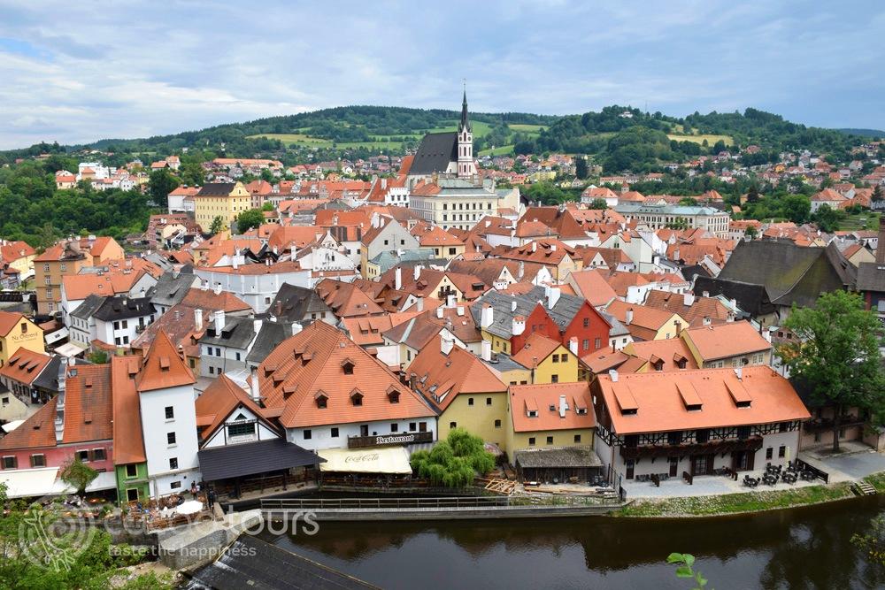 екскурзия в Европа - Чешки Крумлов, Чехия (Cesky Krumlov, Czech Republic)