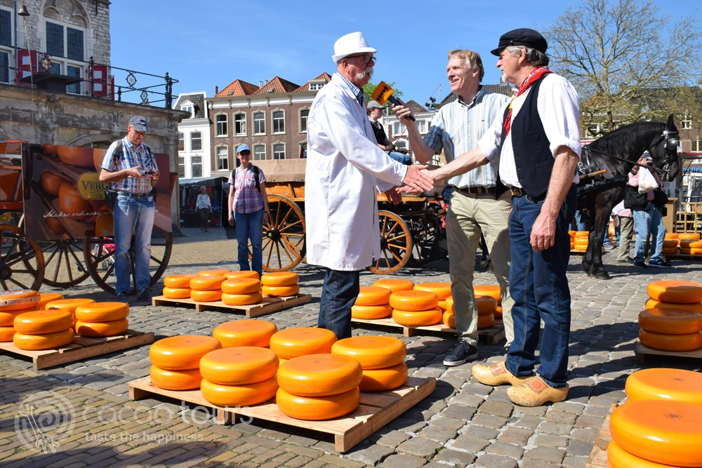 Cheese Market Gouda, Netherlands