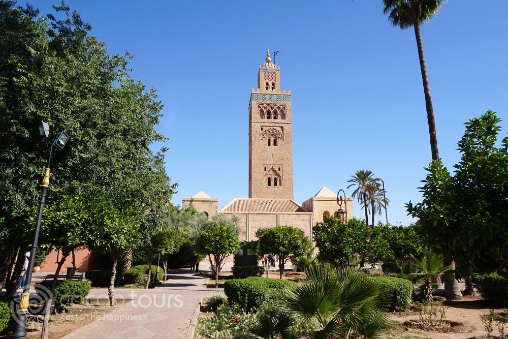 джамията Кутубия (Koutoubia Mosque), Маракеш, Мароко (Marrakech, Morocco)