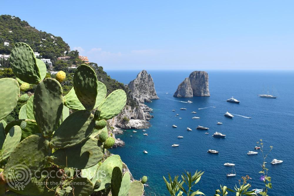Фаральоните, остров Капри, Южна Италия (Faraglioni, Capri, Italy)
