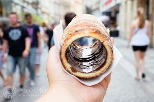 Trdelnik, Prague, Czech Republic